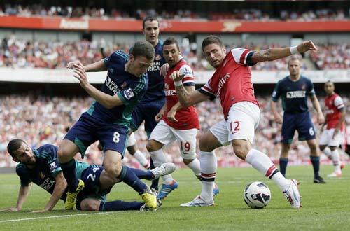 """Arsenal: """"Liều thuốc"""" cho trái tim - 1"""
