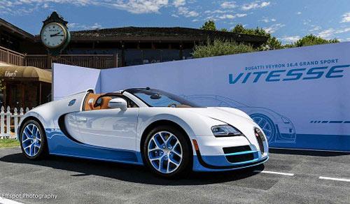 Veyron 16.4 Grand Sport Vitesse SE nhìn là mê - 1