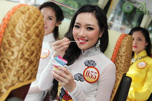 Phút riêng tư của thí sinh Hoa hậu - 1