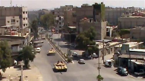 Syria: Giao tranh dữ dội, 100 người chết - 1
