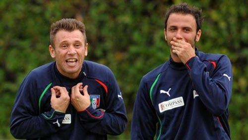 Cassano đổi chỗ Pazzini: Tốt cho tất cả - 1