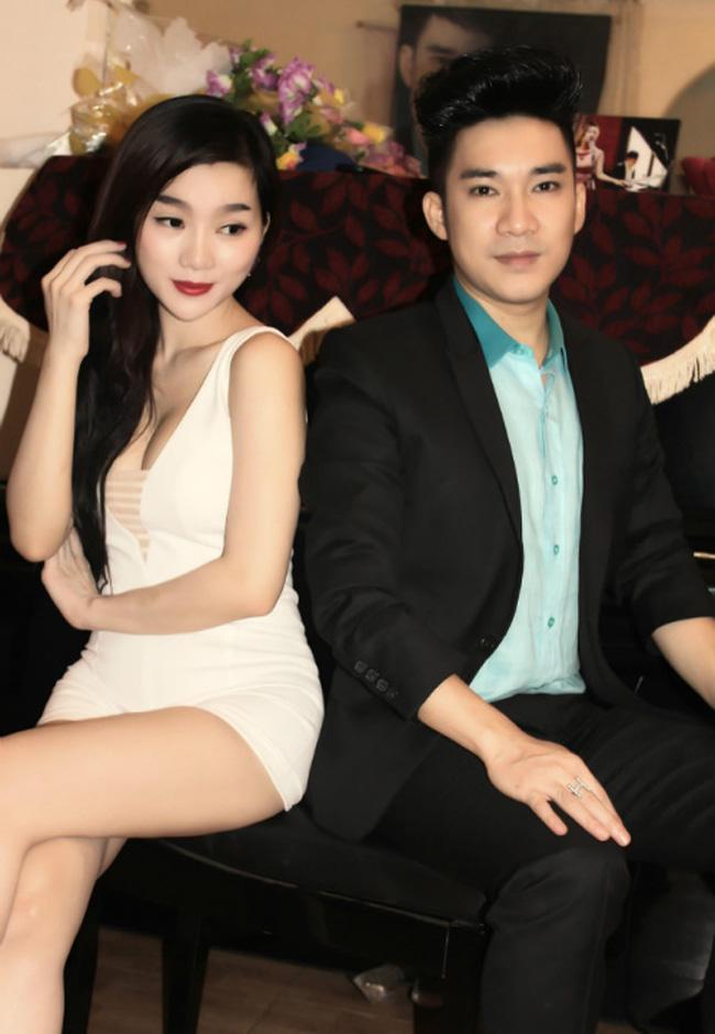 Bạn gái ca sỹ Quang Hà cũng trùng tên với anh: Thu Hà.