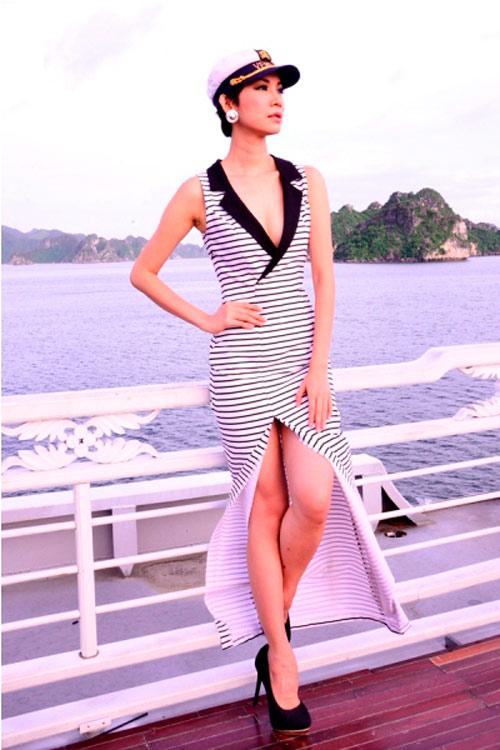 Xuân Lan làm nữ thủy thủ sexy - 1