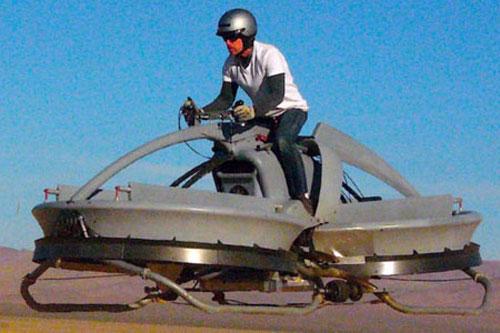 Mô tô bay, công cụ tuần tra hữu hiệu cho Cảnh sát - 1