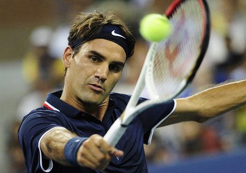 """Federer - Young: Không có cửa """"bật"""" (video US Open) - 1"""