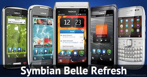 Nokia N8, E7, C7, C6-01… cập nhật Belle Refresh - 1