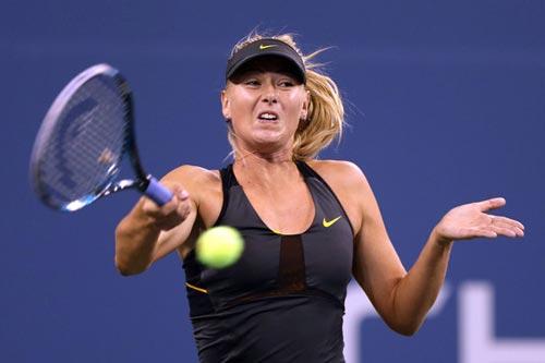 Sharapova - Lino: Áp đảo (Video vòng 2 US Open) - 1