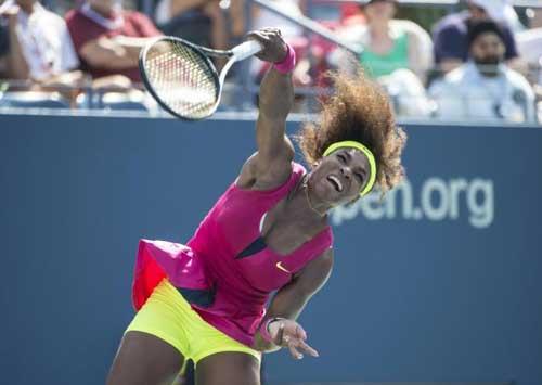 Hlavackova - Serena: Siêu tốc hành (video vòng 4 US Open) - 1