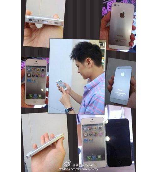 iPhone 5 xuất hiện trên tay Lâm Chí Dĩnh? - 1