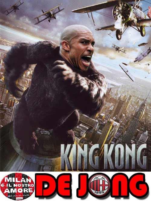 Biếm họa: SAO Milan hóa King Kong - 1