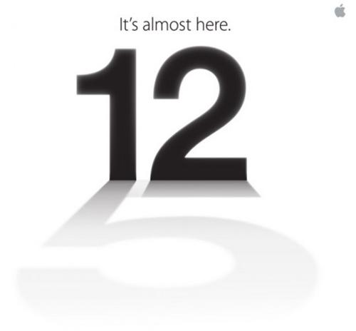 Apple xác nhận iPhone 5 ra mắt ngày 12/9 - 1
