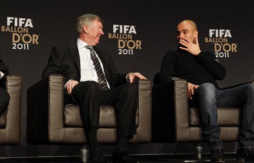NÓNG: Sir Alex bí mật gặp Pep Guardiola - 1