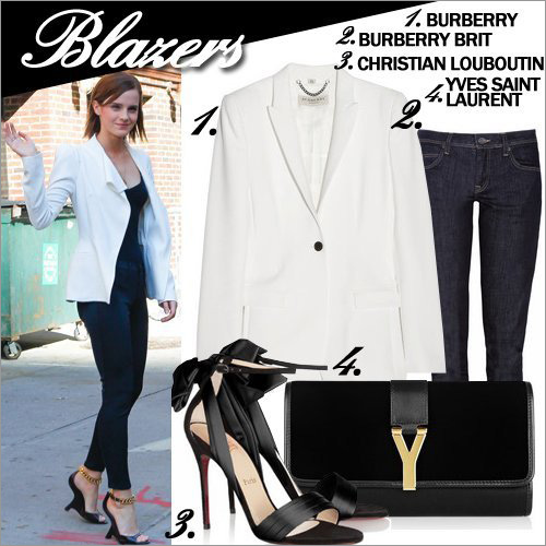 11 cách mặc blazer quyến rũ đến công sở - 1