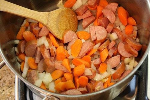 Mát lòng với súp đậu xúc xích - 1