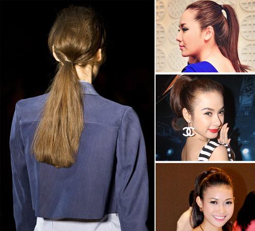 """Sao Việt """"đi sát"""" thời trang tóc quốc tế - 1"""