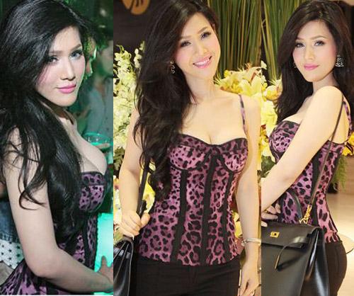 Người đẹp Việt mặc corset cực bạo - 1
