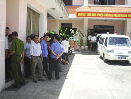 Cụ ông tử vong tại Cục Thi hành án TP Đà Nẵng - 1