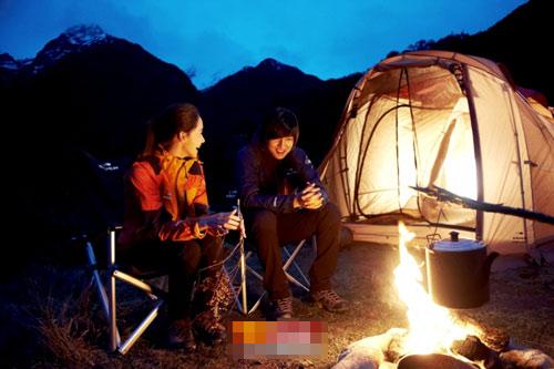 Lee Min Ho băng rừng cùng người đẹp - 1