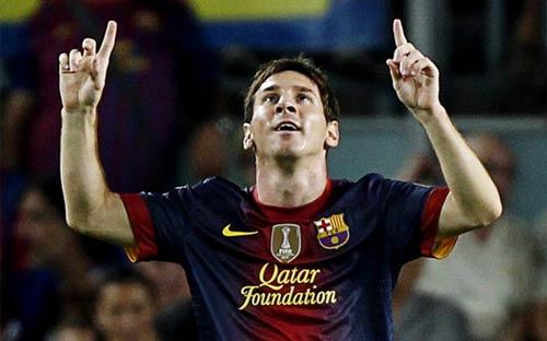 Messi lại bỏ xa Ronaldo - 1