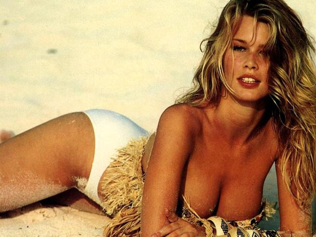 Claudia Schiffer cũng xuất thân là một siêu mẫu.