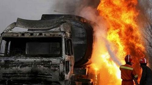 Afghanistan: TNGT, 50 người chết cháy - 1