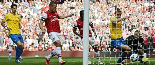 Arsenal - Southampton: Pháo nổ liên hồi - 1