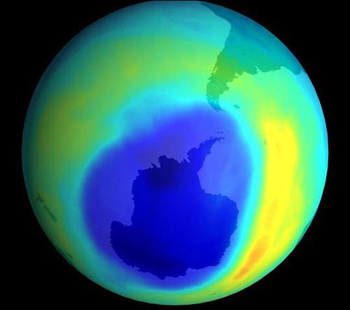 Lỗ thủng tầng ozon đang nhỏ lại - 1