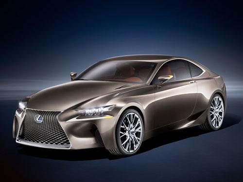Lexus LF-CC Concept thẳng tiến Paris - 1