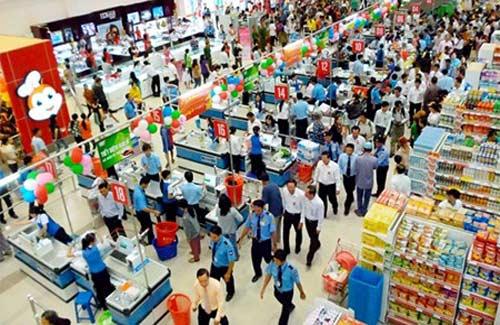 """Hàng Việt """"thống lĩnh"""" trong siêu thị - 1"""