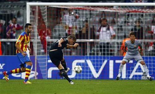 Bayern – Valencia: Áp đảo toàn diện - 1