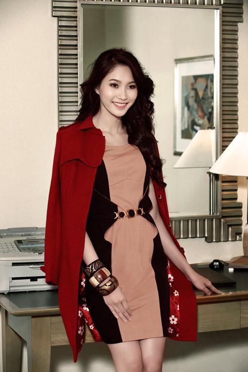 Hoa hậu Thu Thảo sành điệu, thanh lịch - 1