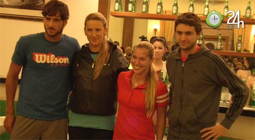 SAO quần vợt TG giao lưu với tài năng trẻ - 1