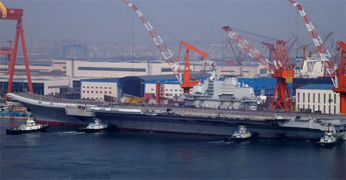 Tàu sân bay TQ được đề xuất đặt tên Điếu Ngư - 1