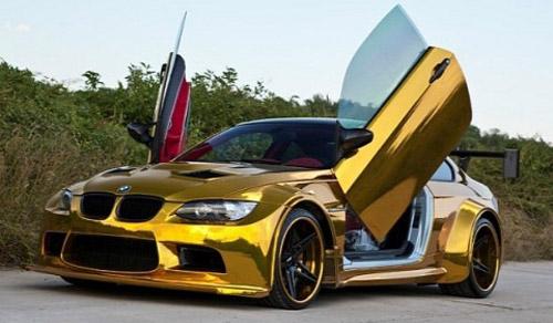 """BMW M3 độ """"vàng"""" độc nhất vô nhị - 1"""