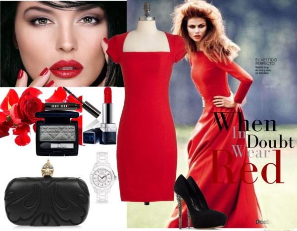 Váy đỏ - 1