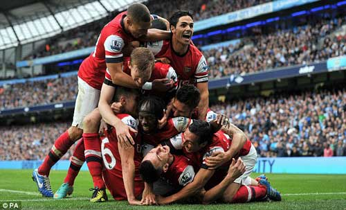 Mourinho đặt cửa Arsenal vô địch NHA - 1