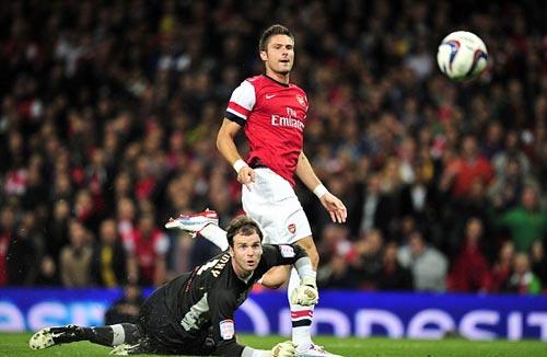 Arsenal - Coventry: Mưa bàn thắng - 1