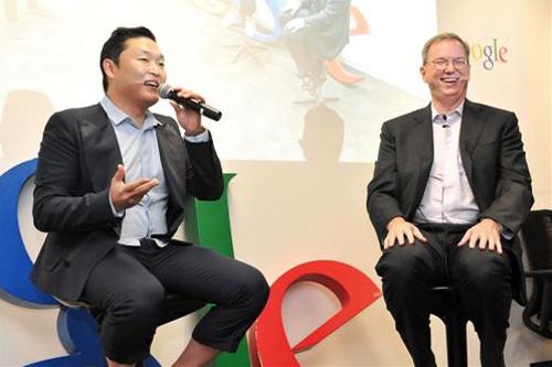 Chủ tịch Google cũng mê Gangnam Style - 1