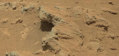 Phát hiện vết tích dòng suối trên sao Hỏa - 1