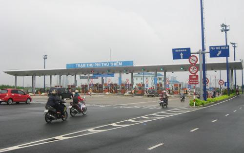 Thử nghiệm thu phí đường hầm sông Sài Gòn - 1