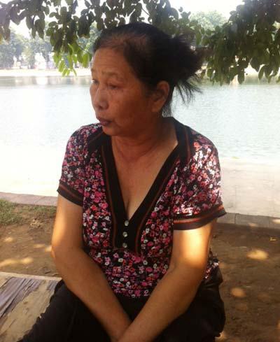 Sự thực về bà cụ cơ khổ ở hồ Thiền Quang - 1