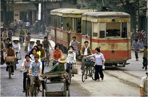 Ảnh: Một thời tàu điện Hà Nội leng keng - 1