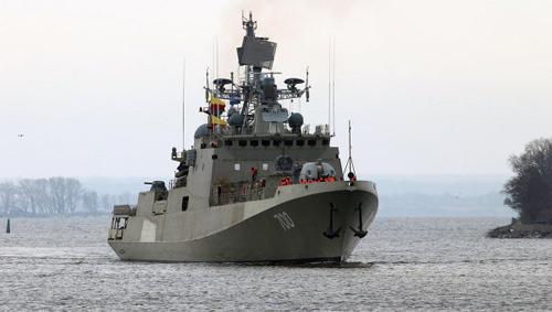Nga giao tàu khu trục tên lửa tàng hình cho Ấn Độ - 1