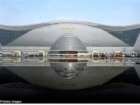 Trung Quốc khánh thành tòa nhà lớn nhất TG - 1