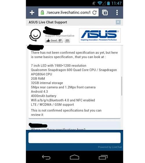 Nexus 7 có pin khủng 4000 mAh - 1
