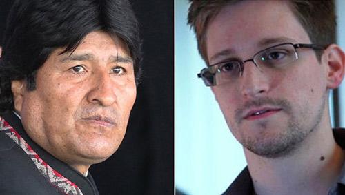 Chuyên cơ chở TT Bolivia hạ cánh vì Snowden - 1