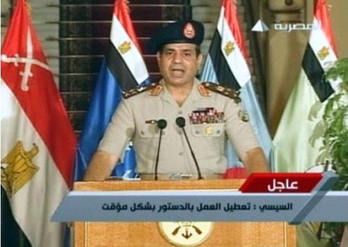 Quân đội Ai Cập lật đổ Tổng thống Morsi - 1