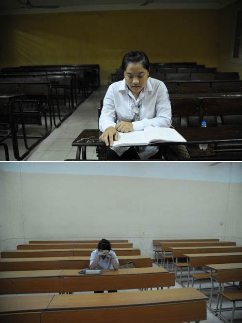 Sáng nay, thí sinh làm bài thi môn Toán - 1