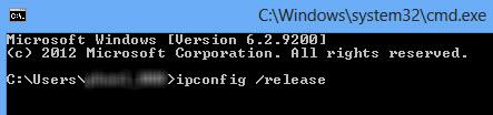 Windows 8: Xử lý lỗi Limited khi kết nối Internet - 1