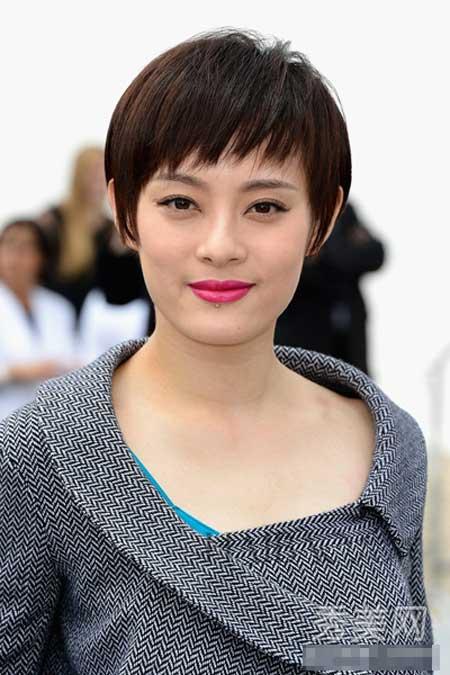 Những mỹ nhân tóc ngắn xinh đẹp của Cbiz - 1